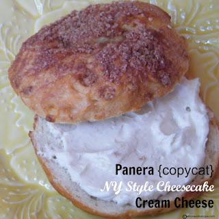 Panera {copycat} NY Style Cheesecake Cream Cheese