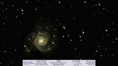 Photo: I'm not super happy with the way this one came out, but it's something. I tried for color but the RGB subs are not long enough and didn't add anything but a yellow hue. The L had several subs that lost tracking. All in all it's a work in progress but I like galaxies and thought I'd share.