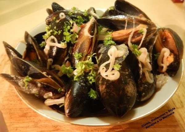 Clams, Fishermen's Style - Almejas A La Marinera Recipe