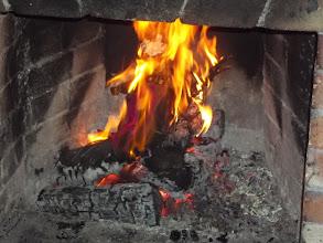Photo: už hoří
