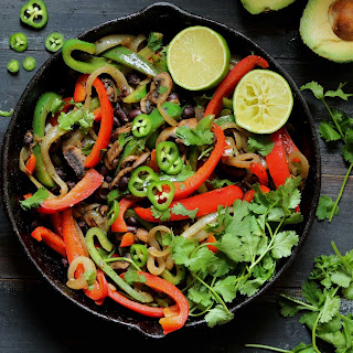 Vegetable Fajitas with Black Beans Recipe