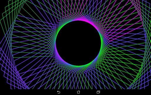 Hypnotic Pulsator Pro - Visualizer & Wallpaper  screenshots 9