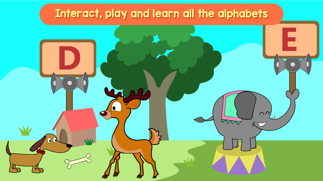 Kindergarten Kids Learning- screenshot