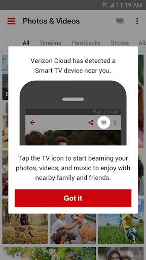 Verizon Cloud  screenshots 1
