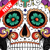 Sugar Skull Wallpaper