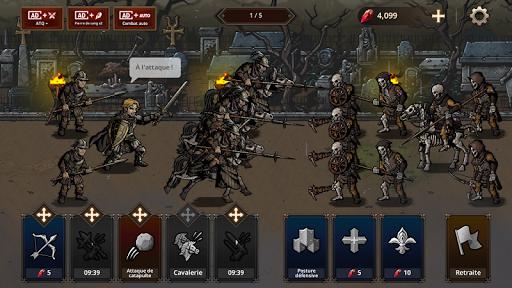 Code Triche King's Blood: La Défense apk mod screenshots 2