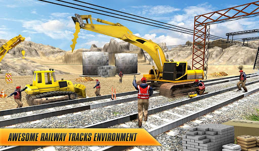 Train Track, Tunnel Railway Construction Game 2018 1.1 screenshots 7