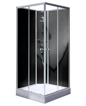 Cabine de douche intégrale Rimini 90 x 90 cm