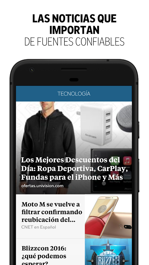 Flipboard: captura de pantalla
