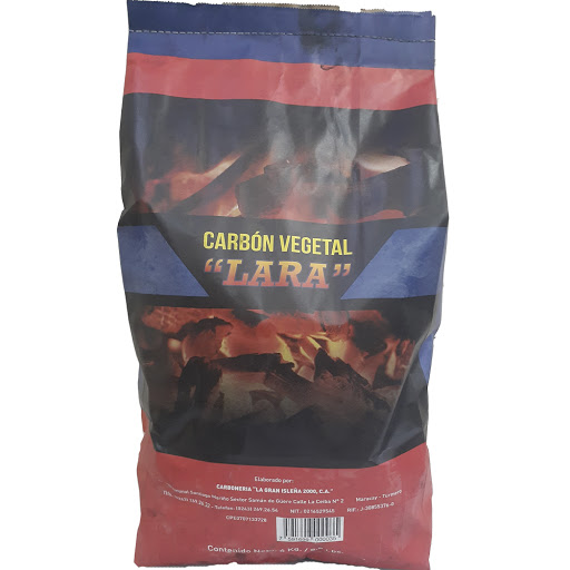 carbon vegetal lara normal 4kg