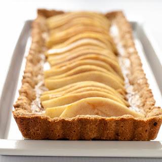 Gluten-Free Cinnamon Pear Tart with Caramel Sauce Recipe