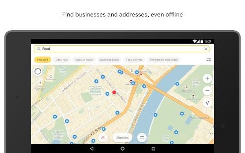 Yandex.Maps Screenshot 11