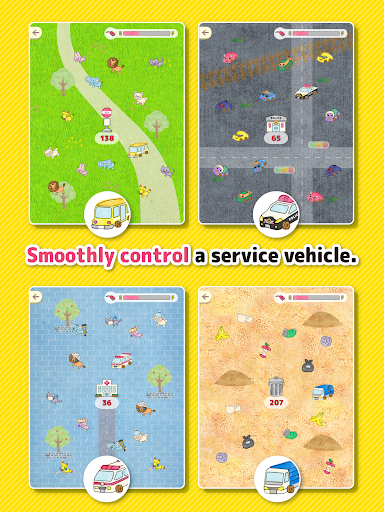Car tag - Play tag with service vehicles! 1.1 screenshots 7