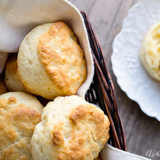 Savory Extra Sharp Cheddar Biscuit.