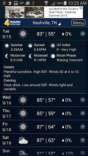 玩免費天氣APP|下載WSMV WX app不用錢|硬是要APP