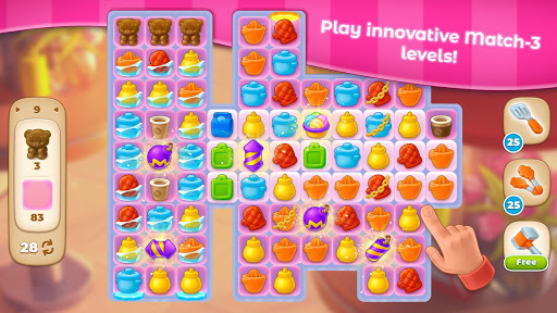 Cooking Paradise - Puzzle Match-3 game 2.0.6 screenshots 6