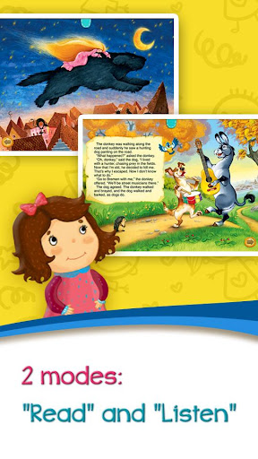 Azbooks - kid's fairy tales, songs, poems & games screenshot 4