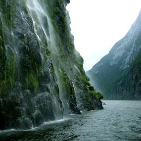 Milford Sound by Celestyx Celestyx - Landscapes Waterscapes