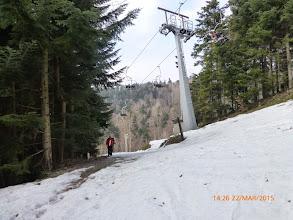 Photo: Kod donje stanice skijaške žičare