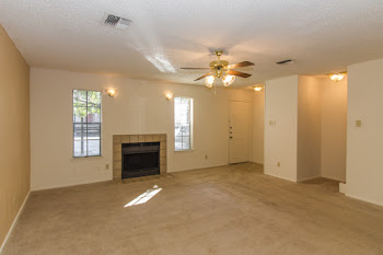 Go to E - 3 Bedroom Townhome Floorplan page.