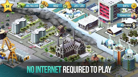 City Island 4 – Town Simulation: Village Builder Mod Apk Download For Android and Iphone 6