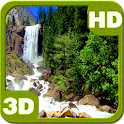 Nice Cascade Waterfall 3D icon