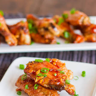 Honey Garlic Chicken Wings.