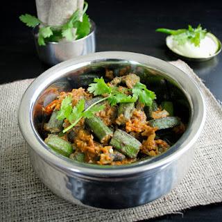 Bhindi Masala- Spicy Okra Gravy
