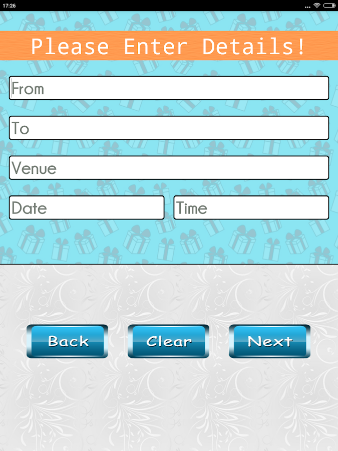 Party Invitation Card Designer Android Apps on Google Play – Party Invite App