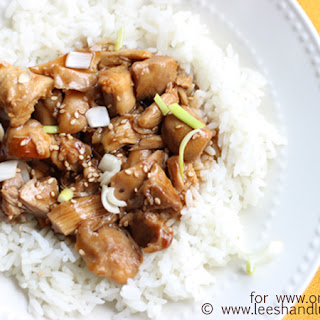 Teriyaki Chicken a perfect no fuss meal for back to school