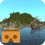 VR Island for Google Cardboard Icon