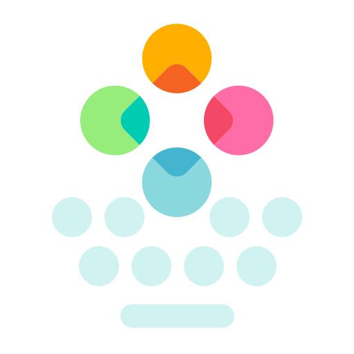 Fleksy: Fast Keyboard + Stickers, GIFs & Emojis Icon