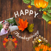 Happy Thanksgiving Greeting Cards Maker For Wishes