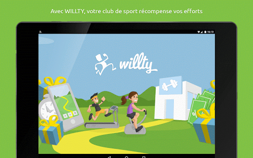 WILLTY sport rewards- screenshot thumbnail