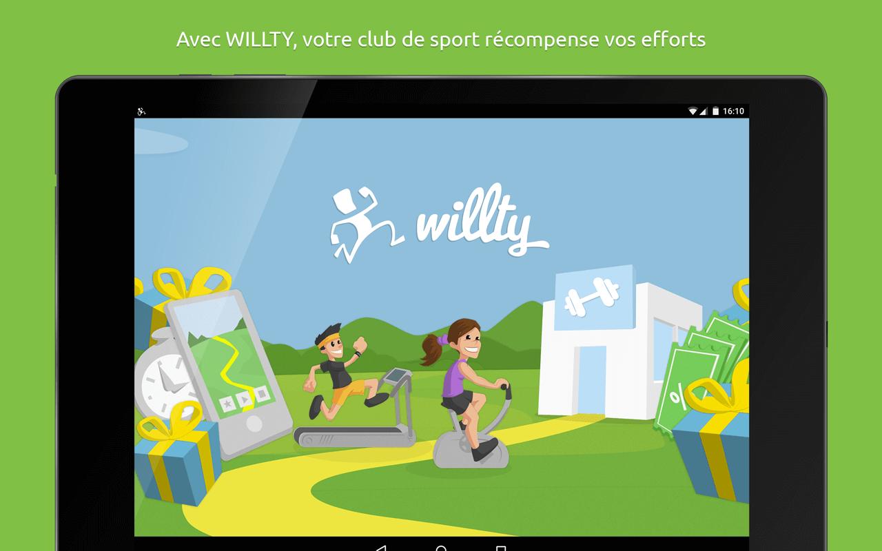 WILLTY sport rewards- screenshot
