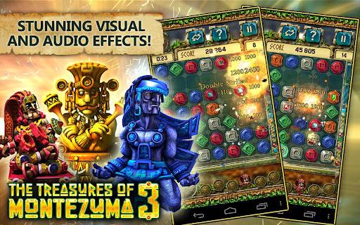 Treasures of Montezuma 3 Free. True Match-3 Game.  captures d'écran 1