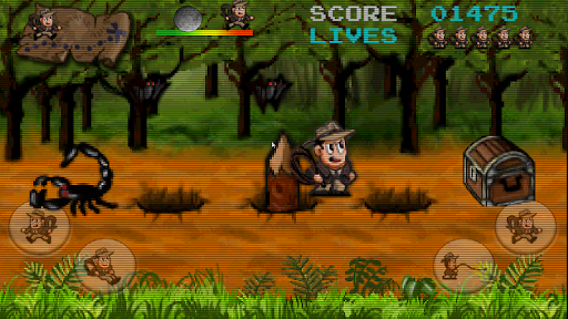 Retro Pitfall Challenge apkpoly screenshots 3