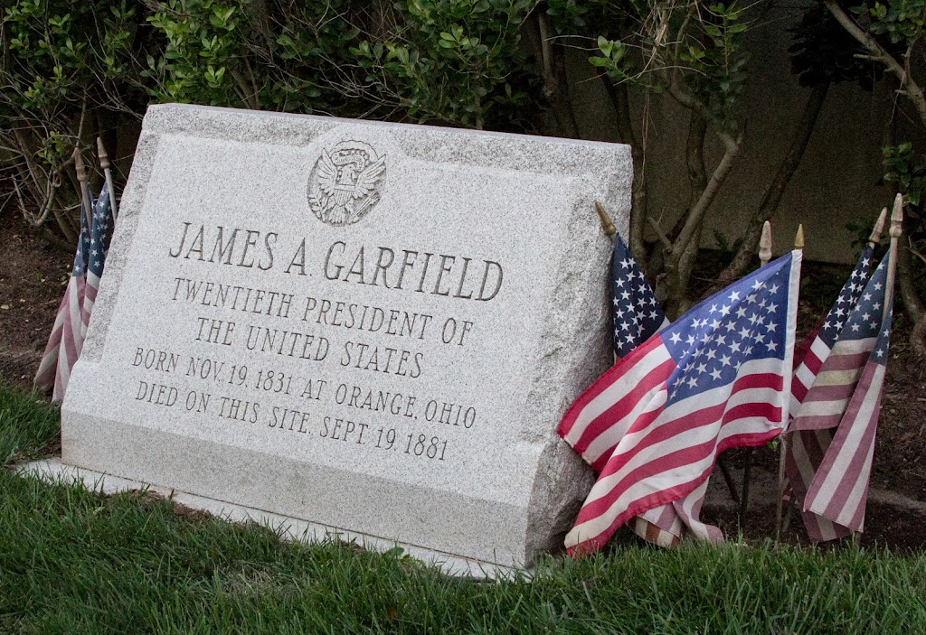 Read The Plaque James A Garfield Death Site