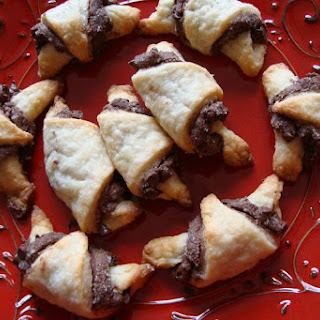 RUGELACH Cookies with Nutella & Chocolate Chips