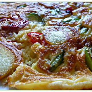 Pancakes with Vegetables (Savory) Recipe