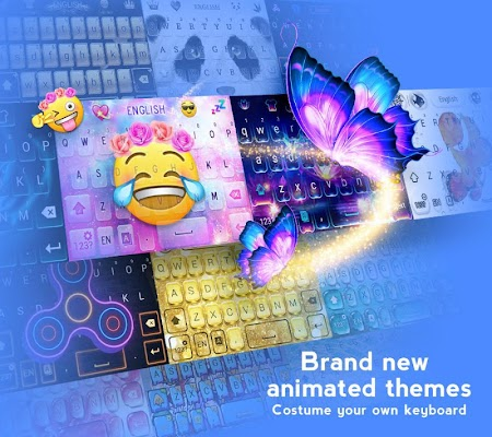 Hi Keyboard - Emoji Sticker, GIF, Animated Theme - screenshot