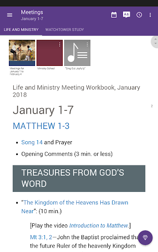 Screenshot for JW Library in Hong Kong Play Store
