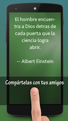 android Frases de Ciencia Screenshot 1