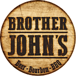 Logo for Brother John's Beer, Bourbon & BBQ