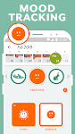 screenshot of Period Tracker Clue: Period & Ovulation Tracker