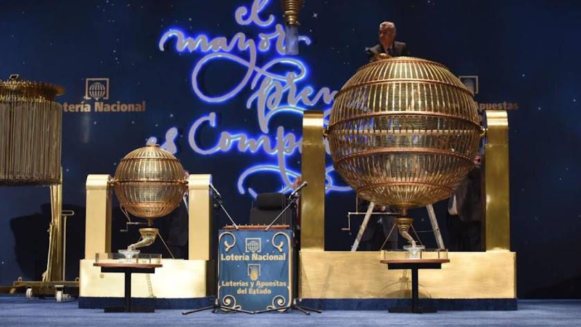 Imagen de archivo del sorteo navideño de Loterías y Apuestas del Estado.