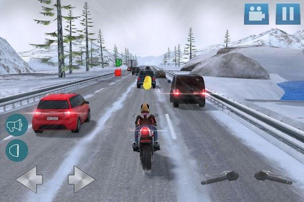 Moto Traffic Dodge 3D - screenshot