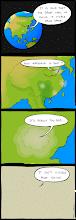 Photo: http://www.bonkersworld.net/great-wall-visibility/ #Comic  #China