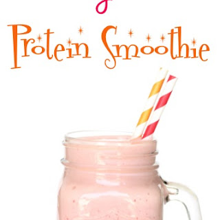 Strawberry Banana Protein Smoothie Recipe!