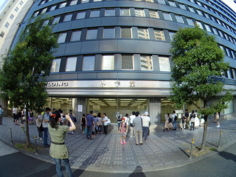 Photo: 2013/08/18 神保町 小学館ビル前